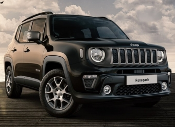 Jeep Renegade 1.6 Mjt 120 CV LIMITED carbon black